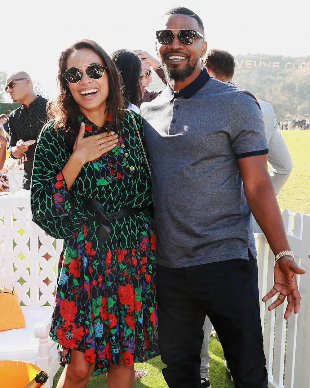 (Jamie Foxx, Rosario Dawson/Photo by BFA Images)